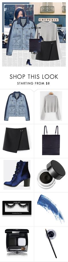 """""""Irene Kim"""" by e-laysian ❤ liked on Polyvore featuring Kenzo, Under My Roof, Napoleon Perdis, Inglot, Eyeko, Chanel and Maybelline"""