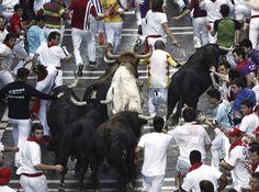 Las mejores imágenes del segundo encierro de Dolores Aguirre - RTVE.es 02