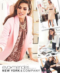 LAUNCHED TODAY!!!  Eva Mendes' Exclusive Fall Fashion Collection at NY&C