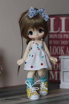 Dress for KikiPop Kinoko Juice dolls 15-a11 by Annettetdoll