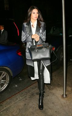 April 26, 2015 - Arriving at Gigi Hadid's 20th birthday at Red Stixs restaurant in NYC