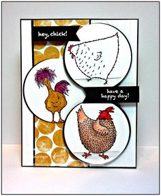Stamping with Julie Gearinger: SUO164- Hey, Chick! Sneak Peek for SAB