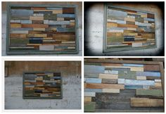 #Frame, #RecycledPallet, #Timber, #Wall
