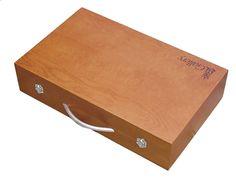 Kangourou 108-delige houten luxetekenkoffer