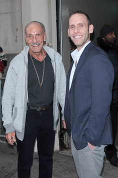 Les Gold and Seth Gold of Hardcore Pawn were all smiles when they were spotted in New York City. Hey Guys, why no call to take me to lunch? Les Gold, Pawn Stars, Times Square New York, Best Tv Shows, Gossip, Bomber Jacket, Nyc, Hollywood, My Love