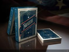 Founders Playing Cards - Goddamn this is a neat set of card. I'm not american, but this set is very cool and patriotic deck! Americannss!! pledge for this!!