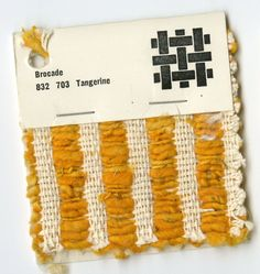 Tangerine Brocade - Jack Lenor Larsen