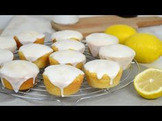 Lemon biscuits, easy recipe, step by step with video Sweet Recipes, Cake Recipes, Lemon Biscuits, Lemon Sponge, Pan Dulce, Food Goals, Food Cakes, Sin Gluten, Pudding