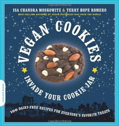 Vegan Cookies Invade Your Cookie Jar: 100 Dairy-Free Recipes for Everyone's Favorite Treats by Isa Chandra Moskowitz,http://www.amazon.com/dp/160094048X/ref=cm_sw_r_pi_dp_vSOlsb1TFP5RXAVK