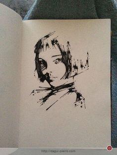 Talie Ink • Natalie Portman as Mathilda in Léon