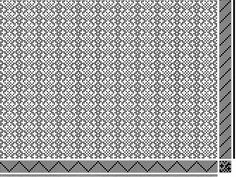 point twill; fleur-de-lis; 8 shaft | Weavolution