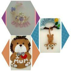 Fiocchi nascita personalizzabili #pannolenci #riciclo #riuso #tessuti #love <3