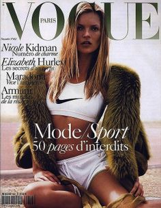 Kate Moss by Mario Testino for Vogue Paris