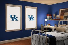 University of Kentucky Roller Shade. Several College Team Shades Offered!
