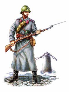 Strzelec 4th Regiment Strzelców Siczowych (Kijów), początek 1919 roku.