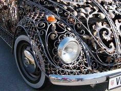 tuning de coccinelle volkswagen fer forge 6   Tuning de coccinelle Volkswagen en métal forgé   Volkswagen tuning photo image ferronnerie fer...