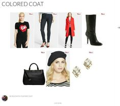 Colored coat