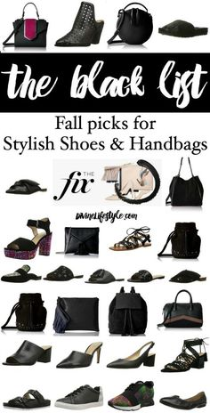 Stylish Shoes and Handbags in Black from The Fix features chic footwear in various styles and textures at affordable prices. Urban Fashion, Boho Fashion, Fashion Shoes, Autumn Fashion, Fashion Tips, Fashion Trends, Style Fashion, Fashion For Women Over 40, Black Women Fashion