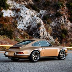 This Gold Custom Porsche Is Sex On Wheels | Airows