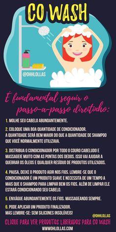 No Poo: como fazer co-wash e condicionadores e produtos para cabelo liberados para co-wash e no poo.