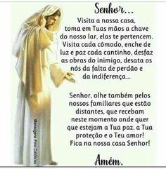Vem Todos os dias 🙏 Jesus Prayer, Religious Education, Catholic Prayers, Family Love, Amazing Quotes, Religion, Faith, Lettering, Thoughts