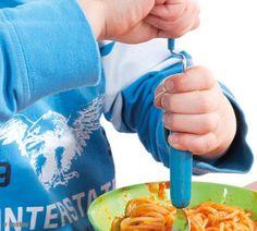 Forchetta a manovella per bambini
