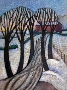 Winter by Jiri Borsky