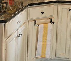 Kitchen cabinets after chalk paint.  4 – 8 hours depending on size of kitchen and number or coats of paint.  Sounds great to me!!  :)