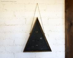 Triangle Earring Holder // Pyramid Earring Display by HedonistINC
