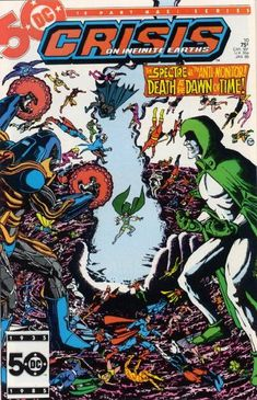 """Death at the Dawn of Time!"": After destroying Brainiac's shell, Psimon turns…"