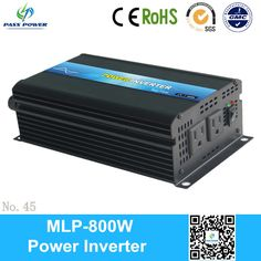 CE RoHS Approved off grid 800w 12 volt inverter one year warranty