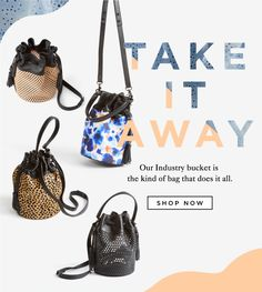 Shop The Industry Bucket Bag At The Official Loeffler Randall Online Store LoefflerRandall.com