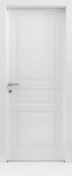 Porta di ingresso bicolore verde e bianco ad arco con - Ferrero porte prezzi ...