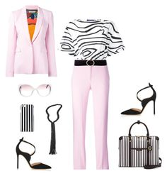 """Pink Pucci Style"" by nrspinks ❤ liked on Polyvore featuring Gianvito Rossi, Emilio Pucci, MICHAEL Michael Kors, Henri Bendel, Linea Pelle and Brunello Cucinelli"