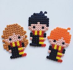 Harry Potter hama beads