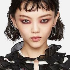 "1,334 Likes, 11 Comments - AMBUSH® (@ambush_official) on Instagram: ""@rila_fukushima #AMBUSH ed in our sterling silver SKULL EARRING at #METgala today in NYC"""