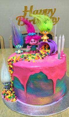 Trolls Cake ASHLEYS FAVORITE