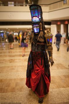 Abbey - Stained glass costume | Beautifully crafted costume … | Flickr