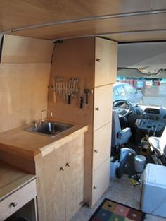 A great collection of do-it-yourself (DIY) Sprinter RV conversions and Sprinter camper vans, including details and photos of these custom Sprinter conversions. Sprinter Camper, Kangoo Camper, Mercedes Sprinter, Diy Camper, Truck Camper, Camper Van, Sprinter Van Conversion, Camper Conversion, Vw Lt 4x4