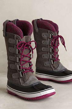 Anthropologie - Sorel Joan of Arctic Knit Boot Cipők 3f36d6ea82