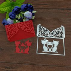 Cat Lover Marriage Lace Metal Cutting Dies DIY Scrapbooking Envelop Paper Card suit for  fustella big shot cutting machin-in Cutting Dies from Home & Garden on Aliexpress.com | Alibaba Group