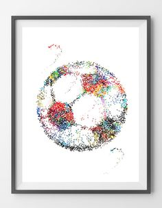 Sport art soccer ball poster soccer ball illustration wall art gift soccer art print soccer ball [408]. 100% positive feedback from our customers. Sizes: 12x16, 16x20, 18x24, 24x36. Worldwide shipping