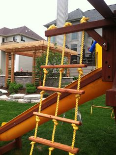 Swing Set Rope Ladder & Mighty tarps replacement for the rainbow playset canopy | For the ...