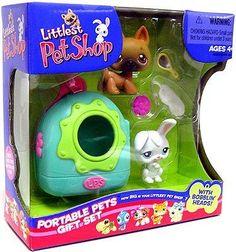 Littlest Pet shop Portable Pets Gift Set & 2007 Hasbro Lps Littlest Pet Shop, Little Pet Shop Toys, Little Pets, Girl Toys Age 5, Toys For Girls, Kids Toys, Lps For Sale, Lps Sets, Pet O