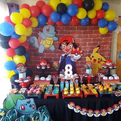Faith N's Baby Shower / Princess - Photo Gallery at Catch My Party Pokemon Party Decorations, Birthday Party Decorations Diy, Party Themes For Boys, Birthday Party Themes, Party Favors, Pokemon Themed Party, Pokemon Birthday Cake, Prince Birthday Party, 10th Birthday Parties