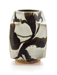 The Property of Dr. Richard and Ruth DickesSHOJI HAMADA (1894 - 1978)An earthenware square vase8 5/8 in. (21.9 cm.) highProvenance:Dr. Robert and Bernice Dickes, New York