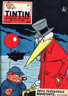 Le Journal de Tintin - Edition Belge - N° 630 - 1958-42 - Mercredi 15 Octobre 1958 - Couverture : Raymond Macherot