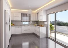 mutfak-dekorasyon-5 (1) Kitchen Room Design, Home Decor Kitchen, Kitchen Furniture, Kitchen Interior, Küchen Design, Interior Design, Open Plan Kitchen Diner, Cocinas Kitchen, Bathroom Design Luxury