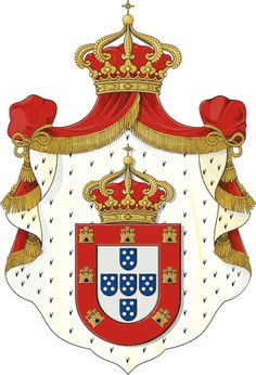 Coat of Arms of the Kingdom of Portugal §Blason royaume de portugal https://fr.pinterest.com/disavoie11/