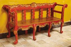Barranco mediterranean benches